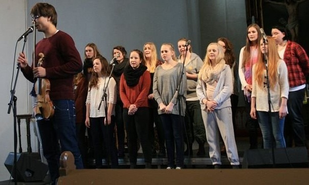 Alexander and Kragerø choir rehearsal 2012
